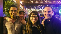 The Pauses play Park Ave CDs with Jawbox's J. Robbins in honor of their new album