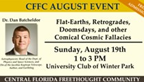 Flat-Earths, Retrogrades, Doomsdays and Other Comical Cosmic Fallacies