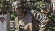 Florida State University president supports moving racist statue, scrubbing building name