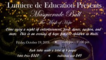 Masquerade Ball Fundraiser: Mask of Hope