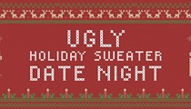 Ugly Holiday Sweater Date Night