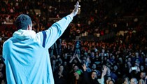 Adam Sandler swings into CFE Arena fresh off of a surprisingly good Netflix special