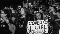 "Concert pic of the week: Little girl seeks ""Cover Girl"" moment at New Kids on the Block at Amway"