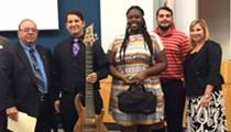 Dedicated Ralphfest organizers track down golden-age clarinet for scholarship winner