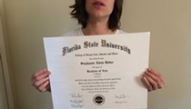 An FSU grad is selling her diploma on eBay for $50,000
