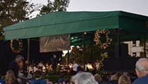 Jingle Bell Rock with the Orlando Philharmonic in Central Park