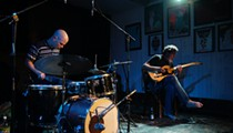 Mesmerizing guitarist Bill Orcutt and stunning noise drummer Chris Corsano spectacularly combust
