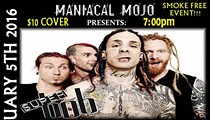 Maniacal Mojo Presents: SuperBob with guests