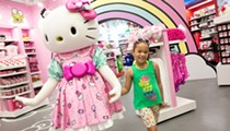 You can now realize your childhood dreams and meet Hello Kitty in person at Universal Orlando