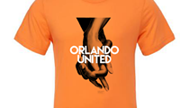 Our 'Orlando United' cover now comes in T-shirt form, and all proceeds go to a good cause