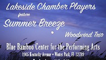 Lakeside Chamber Players Woodwind Trio