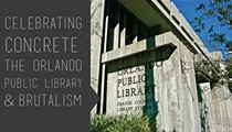 Orlando Public Library celebrates its 50th birthday this weekend with a tribute to concrete