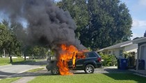 Florida man claims his Galaxy Note 7 exploded, set his Jeep on fire