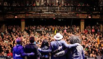 Rusted Root jams (seriously) at the House of Blues tonight
