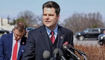 Laughing at video of Florida Rep. Matt Gaetz getting milkshaked is extremely irresponsible