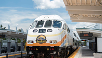 A person was fatally struck by a SunRail train in Orlando this morning
