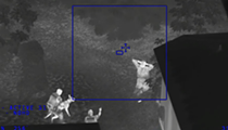 Watch the Seminole County Sheriff's Office track this burglary suspect with thermal vision