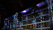 Snow comes down at annual Light Up UCF attraction