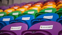Orlando City Soccer Club unveils rainbow seats honoring Pulse victims