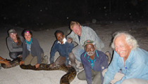 FWC hires snake-hunting tribesmen from India to help with Burmese pythons