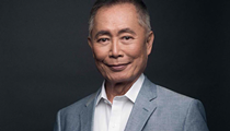 Actor and activist George Takei gives a message of hope and resilience at Rollins College's Warden Arena