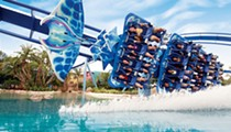 SeaWorld appears to move focus from captive-animal shows to coasters and thrill rides