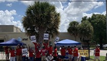 As thousands of communications workers strike across the southeast, Orlando has eight AT&T picket lines
