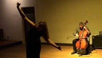 Cellist Daniel Levin and movement artist A. Eithne Hamilton collaborate at CityArts' In-Between Series