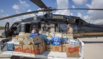 Florida is sending a half-million bottles of water to Bahamas
