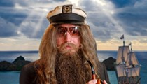 Florida body-painting artist Captain Ron Wolek sets sail for Key West's Fantasy Fest