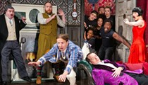 Orlando native Chris French stars in the national Broadway tour of 'The Play That Goes Wrong,' coming to the Dr. Phillips Center