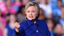 Hillary Clinton reminded Florida Gov. Ron DeSantis that voting is a basic human right