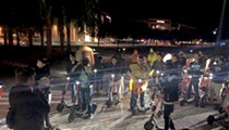 Spin scooter squad at UCF inspires nighttime hijinks