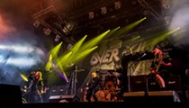 Orlando Philharmonic on Monday and New Jersey thrash lords Overkill on Tuesday round out a big week of shows