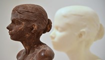 Learn how artwork made from 'Chocolate, Blood and VHS Tapes' is displayed and preserved for generations