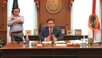 Florida Gov. Ron DeSantis signs a new executive order suspending evictions and foreclosures for 45 days