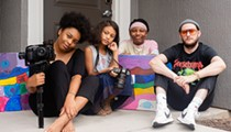 Social Distancing at 85mm: Tyla, Billy, Jayla and Peyton, Lake Mary