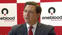 Hecklers interrupt Gov. Ron DeSantis at Orlando press conference: 'You're lying to the public!'