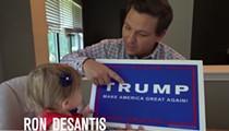 Florida Gov. DeSantis plays to his base again