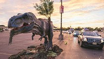Jurassic Quest Drive Thru promises 'realistic' scenes of dinosaur mayhem at the Orange County Convention Center