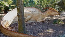 Dinosaurs stalk Orlando again in a new exhibit at Leu Gardens