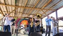 Brown Bag Brass Band throw a Mardi Gras celebration at Dexter's tonight