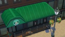 An Orlando gamer recreated Tanqueray's in 'The Sims' (cigarette smoke not included)