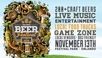 Orlando Beer Festival returns to Festival Park this November
