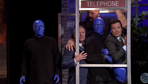 Watch Orlando Mayor Buddy Dyer get squished into a phone booth with Jimmy Fallon