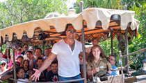 Dwayne Johnson rode Disney's Jungle Cruise for 'research'