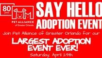 Say Hello Adoption Event