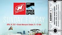 Nautique Wake Open Pro Wakeboard Contest