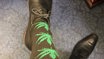 Orlando Rep. Smith rocks extremely chill socks at medical marijuana vote