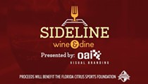 Win tickets to Sideline Wine & Dine